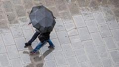 Tormentas y caída notable de las temperaturas