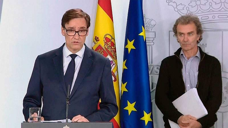 """Sánchez elogia a Illa y a Simón: """"Nunca se han dejado arrastrar por la provocación"""""""