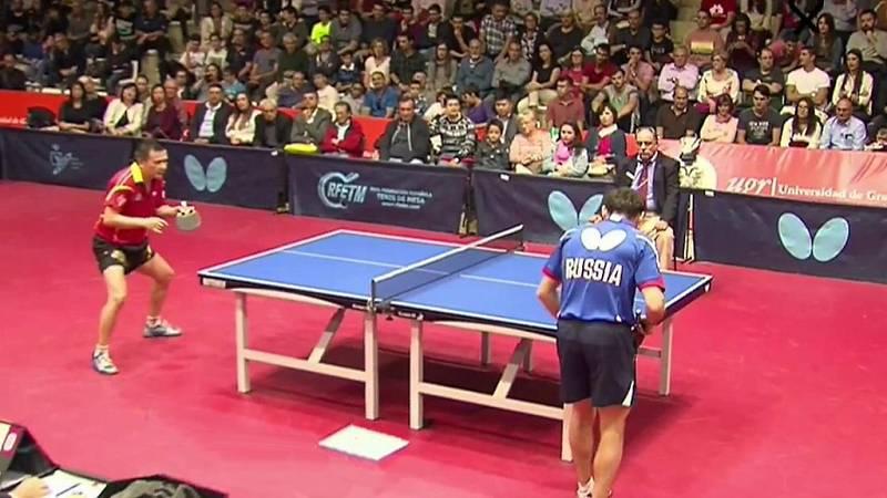 """Tenis de mesa - Liga Naciones 2016: """"Juanito"""" Zhiwen - Grigory Vlasov - ver ahora"""