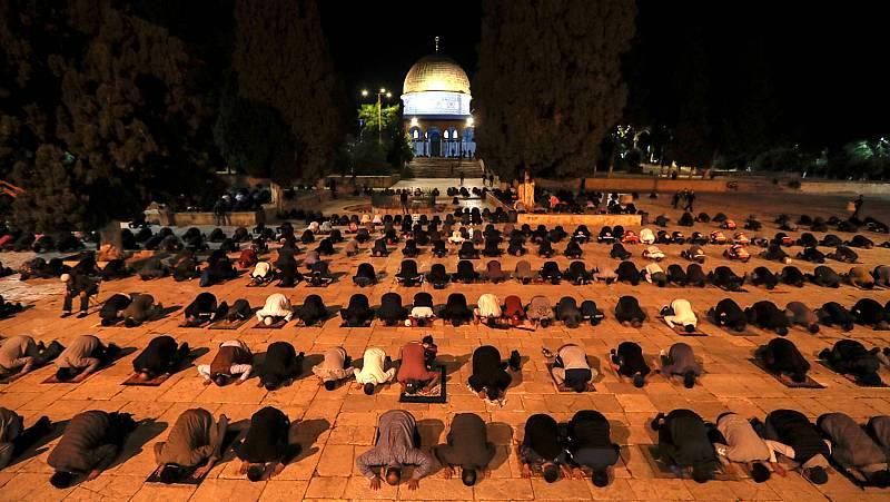 Vídeo: Este domingo ha vuelto a abrir Al Aqsa, la mezquita de Jerusalén