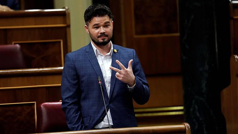 Críticas al pacto del Gobierno con ERC y el PNV para prorrogar el estado de alarma y Cs no desvela el sentido de su voto