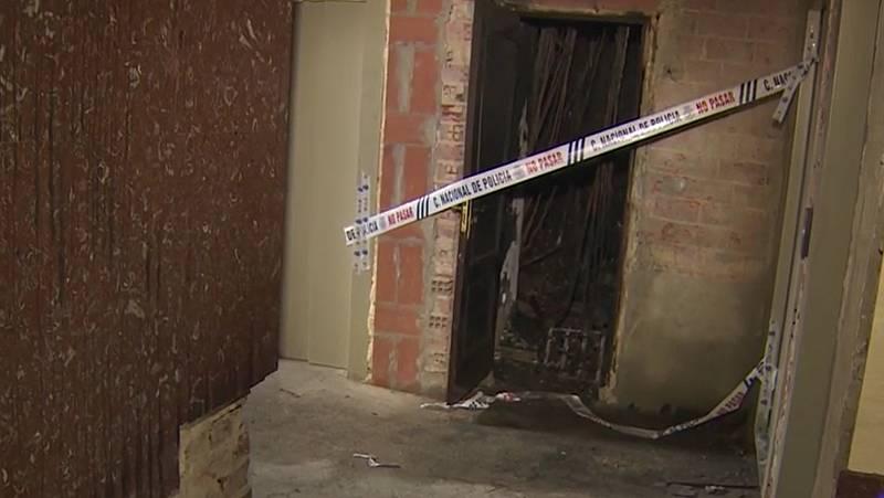 Un incendio en Gijón deja sin luz a 128 viviendas