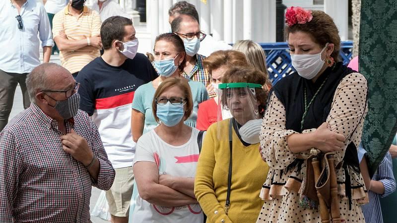 El Rocío, sin peregrinos ni romeria por el coronavirus