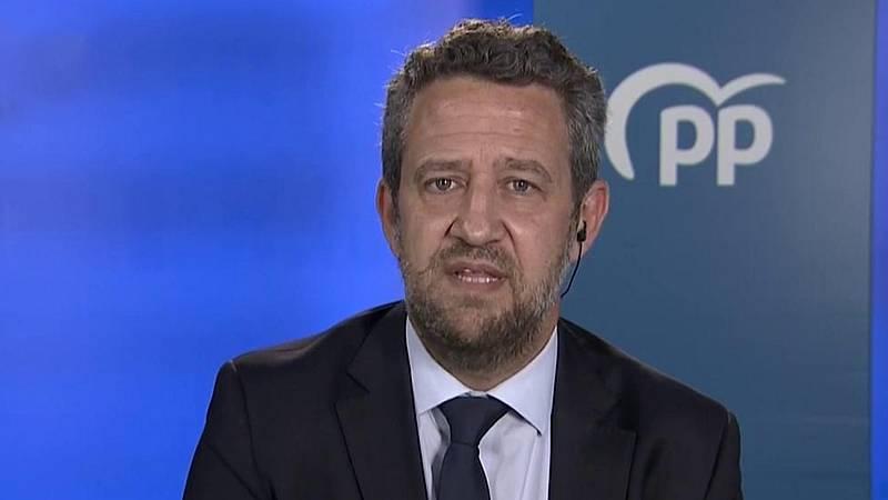 """El PP volverá a votar 'no' a la prórroga del estado de la alarma por considerarlo """"perjudicial"""""""