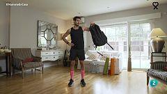 Muévete en casa - Trabajo de fuerza con una mochila