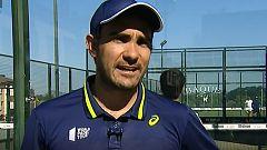 Pablo Lima solo piensa en la reanudación del World Padel Tour