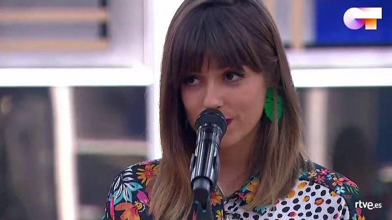 """Maialen canta """"Si te vas"""", de Extremoduro, en el segundo pase de micros de la Gala 12 de Operación Triunfo 2020"""
