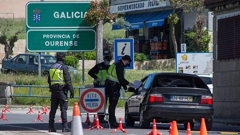 Galicia y Portugal con horarios para pasar la frontera al país vecino