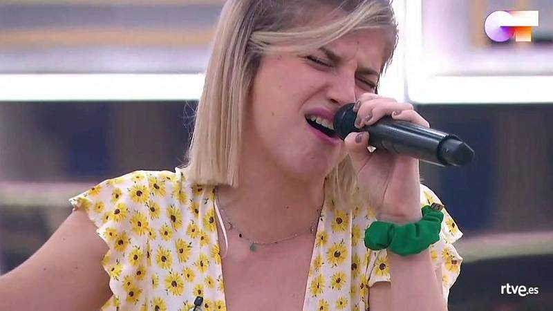 """Samantha canta """"Something's Got A Hold On Me"""", de Christina Aguilera, en el segundo pase de micros de la Gala 12 de Operación Triunfo 2020"""