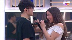 """OT 2020 - Eva y Flavio cantan """"Hey, Baby"""" en el segundo pase de micros de la Gala 12 de Operación Triunfo"""