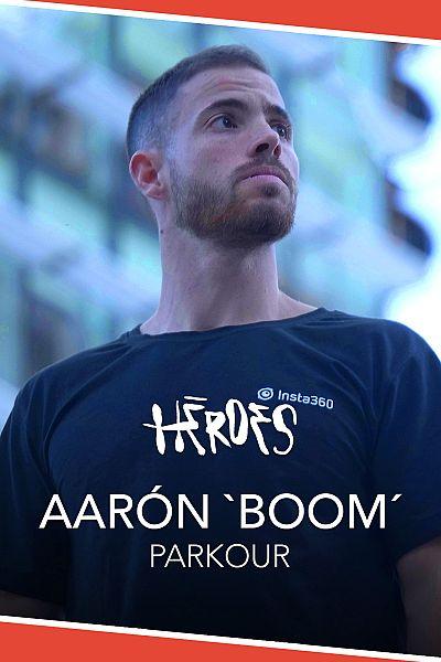 Héroes: Aaron Boom