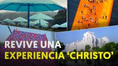 10 efímeras y descomunales obras de arte de Christo