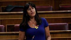 """Laura Borrás (JxCat): """"No se puede vender como una negociación, cuando te conceden lo que te corresponde"""""""
