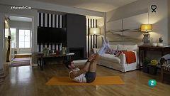 Muévete en casa - ¡Relaja la espalda y fortalece el abdomen!