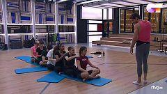 OT 2020 - Clase de estiramientos y masajes con Cesc Escolà