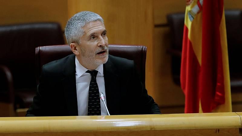 """El Ejecutivo defiende a Marlaska: """"Cuenta con todo el apoyo del Gobierno y del presidente"""""""