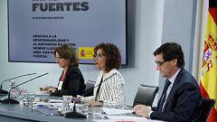 Especial informativo - Comparecencia de la ministra portavoz, ministra para la Transición Ecológica, y ministro de Sanidad - 02/06/20