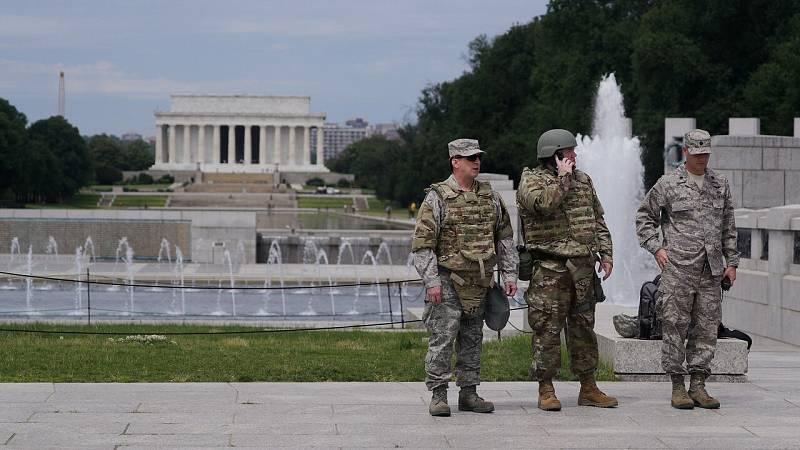 Protestas y disturbios en EE.UU. ante las amenazas de sacar al ejército a la calle