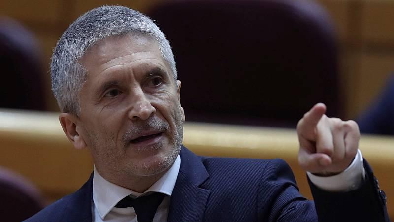 """Casado pide el cese de Marlaska por las """"purgas"""" en la Guardia Civil"""