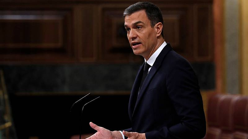 """Sánchez defiende a Marlaska ante los duros ataques de Casado y Abascal: """"Nunca habrá una policía patriótica"""""""
