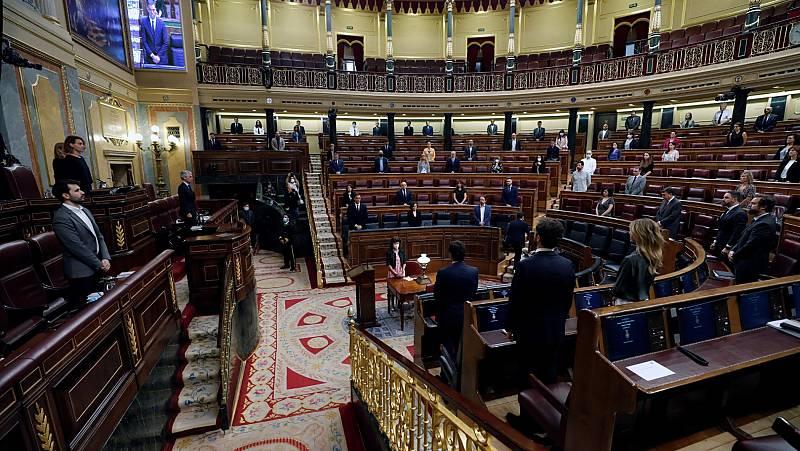 Crispación y cruce de acusación en el debate de la última prórroga del estado de alarma en el Congreso