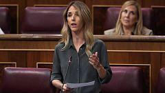 """Cayetana Álvarez de Toledo (PP) a Carmen Calvo: """"Nos quieren sumisos y silentes, olvídense"""""""