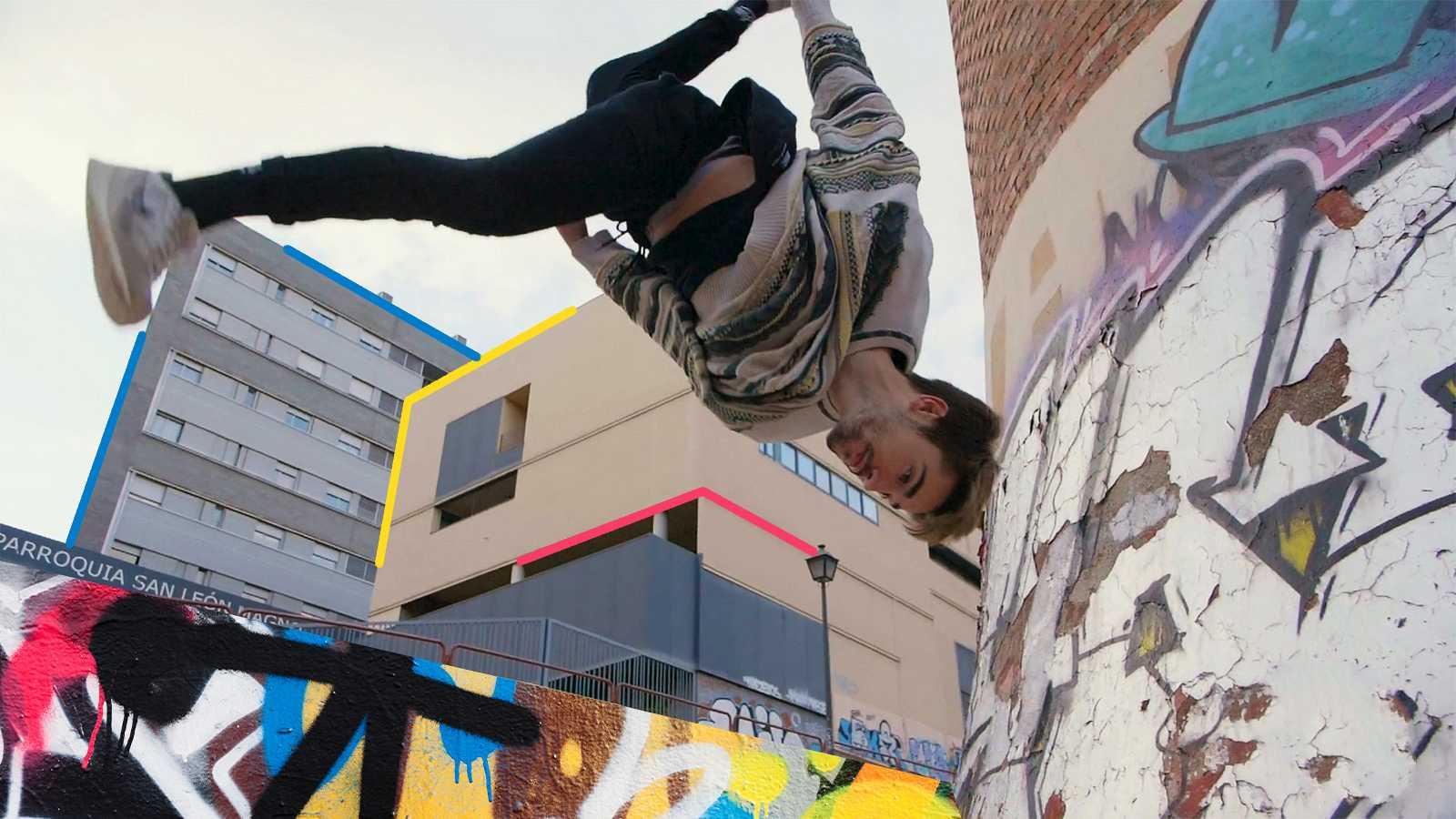Héroes - Tutorial de Shifer WHAT: cómo hacer un Wall Flip en parkour