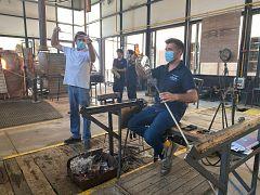 España Directo - Visita a la Real Fábrica de Cristal