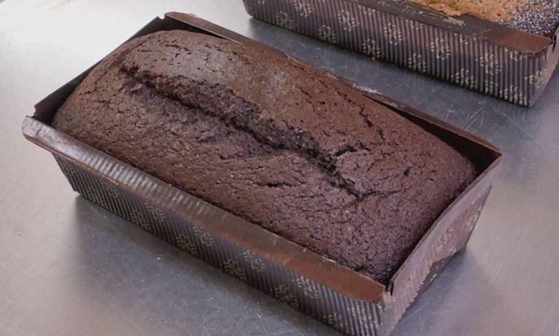 Bizcocho de espelta, ¡y chocolate!