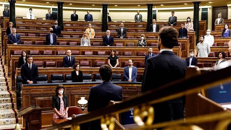 El Congreso aprueba la sexta y última prórroga del estado de alarma en un bronco pleno marcado por Marlaska