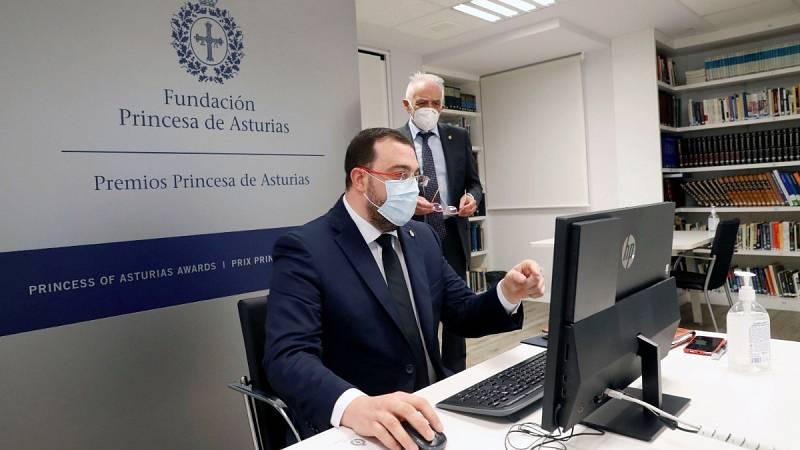 "Adrián Barbón: ""Nos pensamos mucho pedir el pase a Fase 3 porque nos preocupan las residencias"""