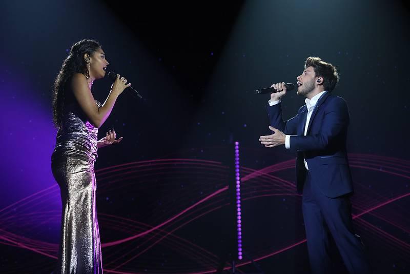 """Blas Cantó y Nia cantan """"Hoy tengo ganas de ti"""", de Miguel Gallardo, en la Gala 12 de Operación Triunfo 2020"""