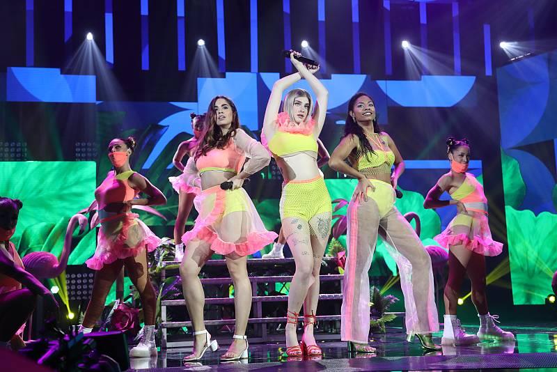 """Anajú, Nia y Samantha cantan """"R.I.P."""", de Sofia Reyes, Rita Ora y Anitta, en la Gala 12 de Operación Triunfo 2020"""