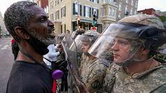 """El Pentágono se desmarca de la estrategia de """"ley y orden"""" de Trump contra las protestas en EE.UU."""