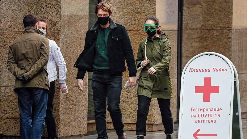 Denuncias contra la aplicación de vigilancia del coronavirus en Rusia