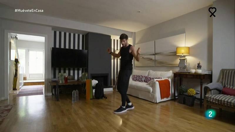 Muévete en casa - Coregrafía con pasos de salsa