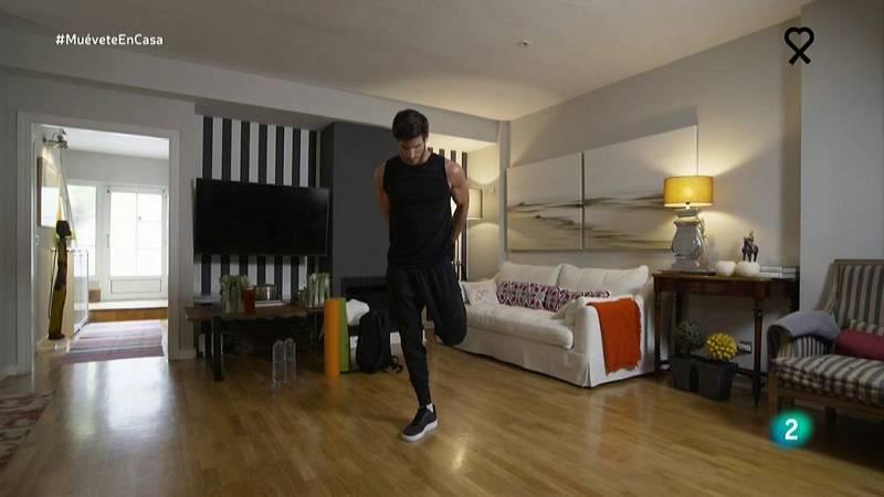 Muévete en casa - Coreografía con pasos de samba