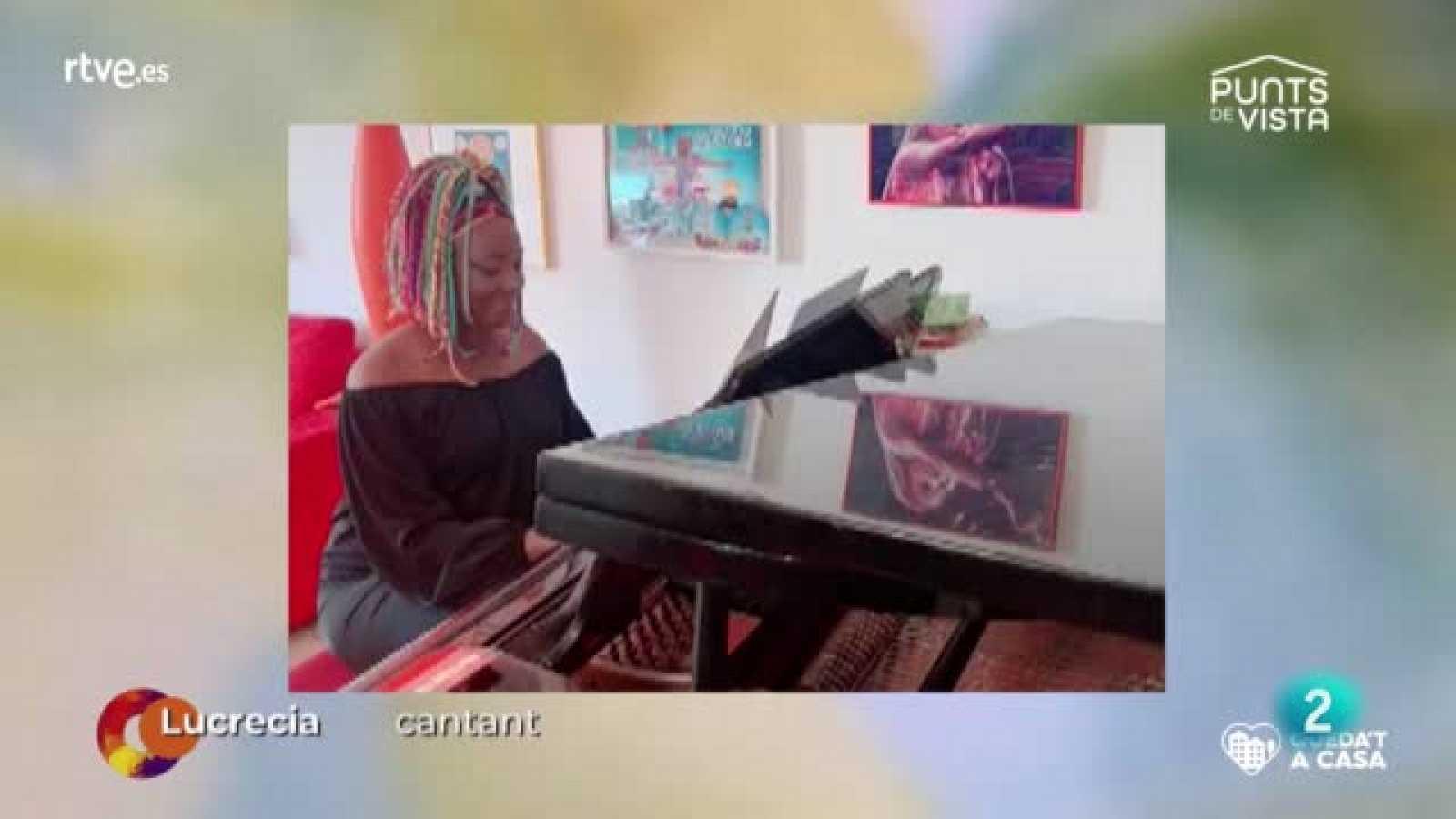 Punts de vista - Entrevista Lucrecia