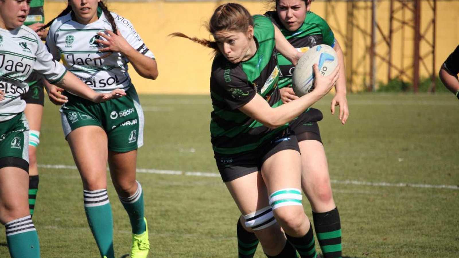 """Irene Moreno Muradas. jugadora de rugby y pilota de aviones de mercancía: """"Ha sido una época muy dura"""""""