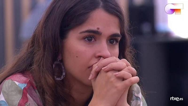 """Los finalistas ven el segundo single de Anne, """"Me iré"""" y el de Gèrard, """"Fugaces"""" y se emocionan mucho"""