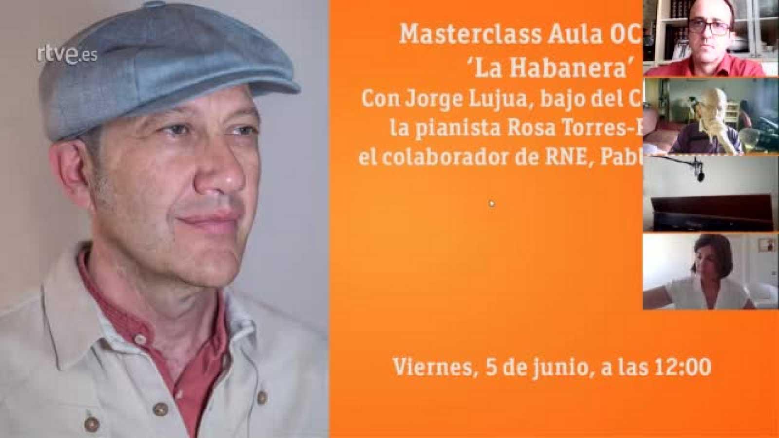 Masterclass Aula OCRTVE Jorge Lujua La habanera