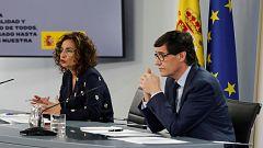 Especial informativo - Comparecencia de la ministra portavoz y del ministro de Sanidad - 05/06/20