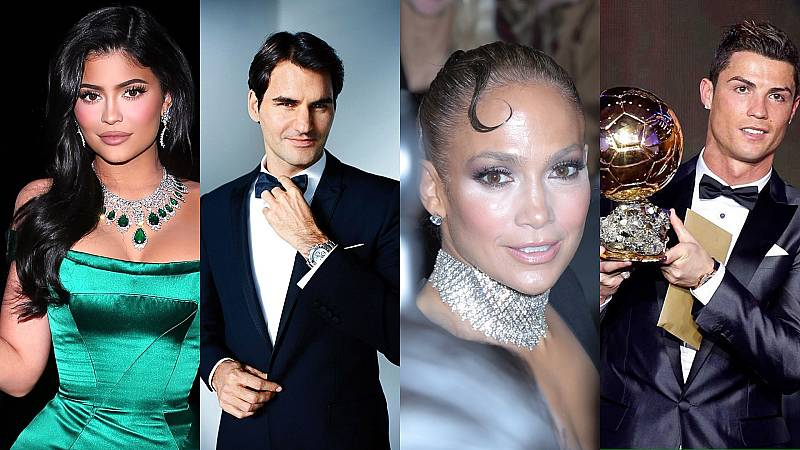 Los famosos mejor pagados del mundo