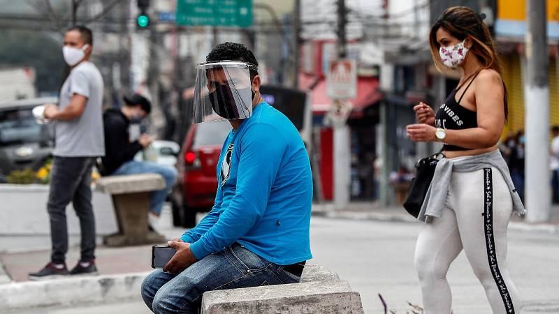 El coronavirus se dispara en Brasil y México