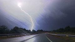 Tormentas fuertes en el Pirineo oriental, Cataluña y Sistema Ibérico