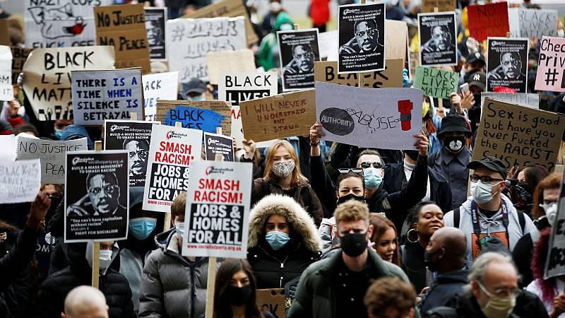 'No puedo respirar', un grito que se oye desde Sídney a París, pasando por Otawa