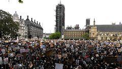 Las protestas por la muerte de George Floyd se extienden por el mundo