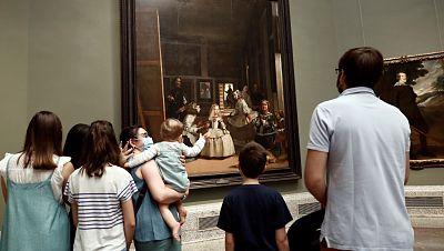 Vídeo: Primeros visitantes del Museo del Prado tras el confinamiento