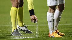 La FIFA, a juicio por no respetar la patente del aerosol evanescente
