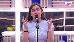 """OT 2020 - Eva canta """"People Help The People"""" en el primer pase de micros de la Gala Final de Operación Triunfo"""
